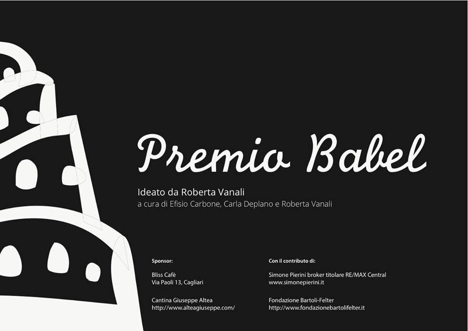 PREMIO BABEL – ORISTANO – SABATO 28 SETTEMBRE 2013