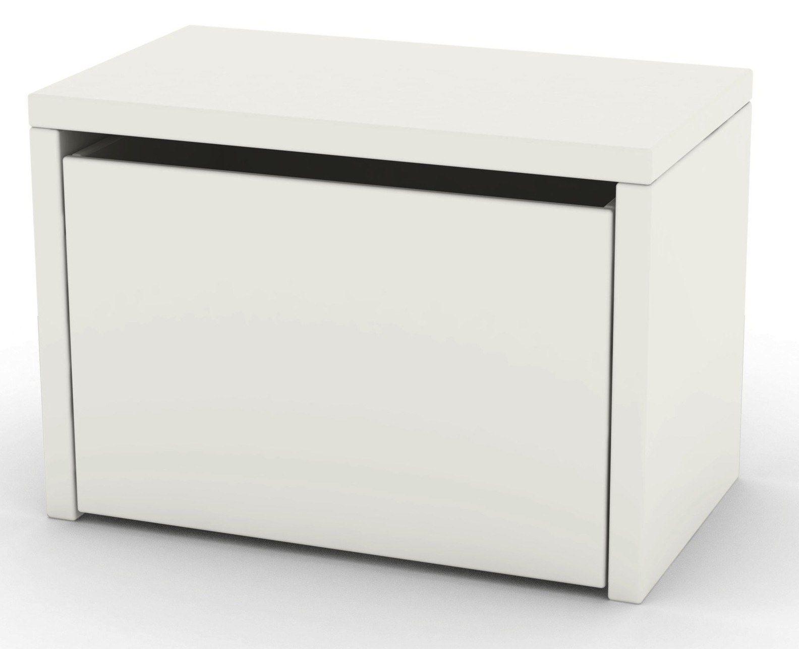 Flexa - Play Bænk - Hvid - Opbevaringsbænk i hvid med 3-i-én ...