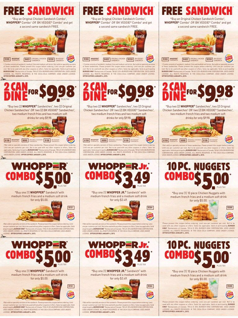 Burger king printable coupons expire january 4 2015 places to burger king printable coupons expire january 4 2015 fandeluxe Choice Image