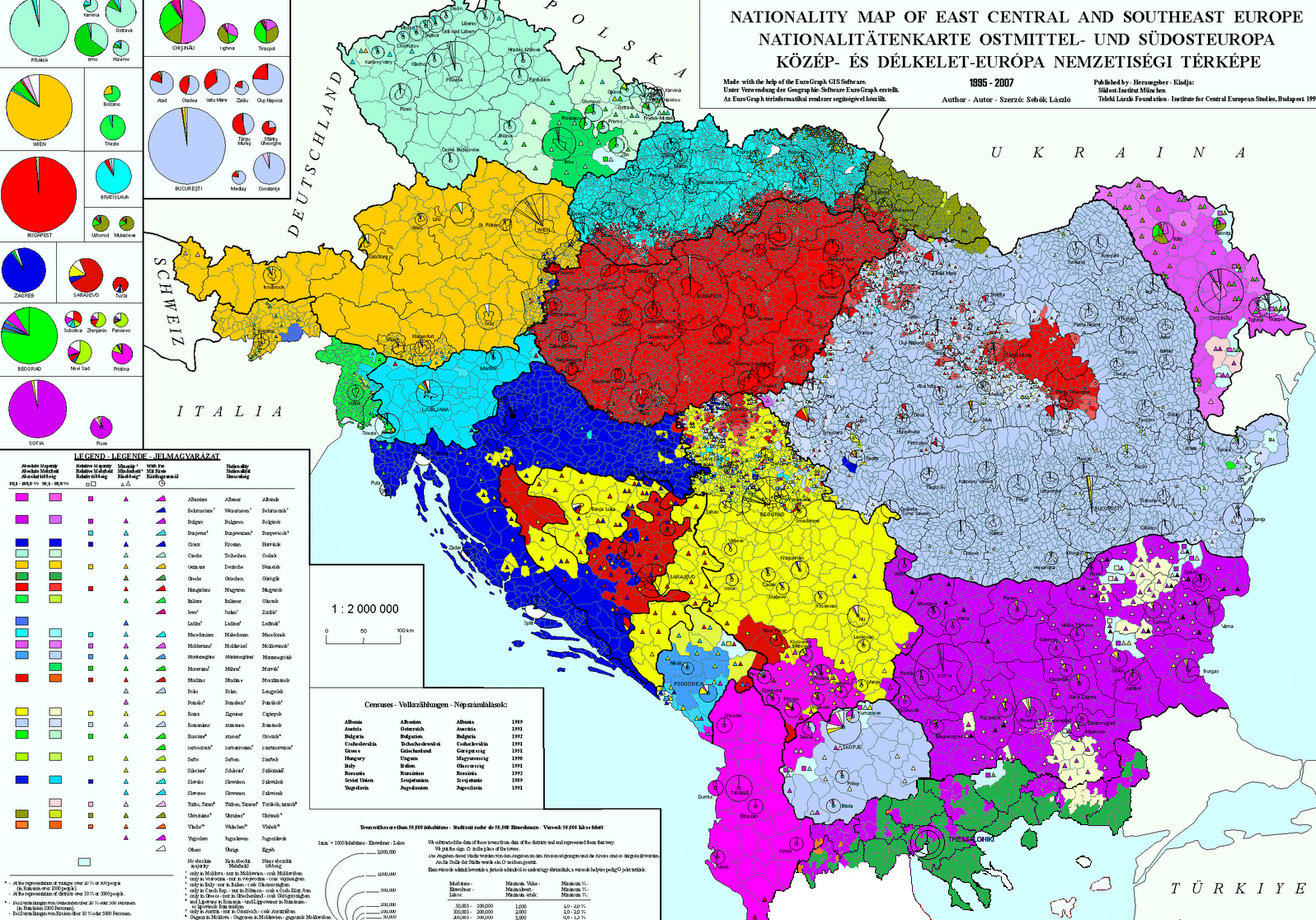 Map of ethnic groups in Albania, Austria, Bosnia, Bulgaria ... Ukraine Ethnic Map on ukraine historical map, ukraine ethnic division, ukraine map crimea, odessa ukraine map, ukraine population density map, ukraine map interactive, 2014 ukraine map, ukraine demographic map, ukraine world map, ukraine 1914 map, ukraine regions map, ukraine west russia, ukraine flag, ukraine language map, eastern europe ukraine russia map, ukraine protests, ukraine division map, conflict in ukraine map, kharkov ukraine map,
