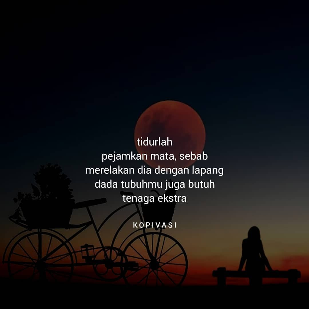 Quote Receh Ga Usah Di Follow Di Instagram Tidurlah Sebab