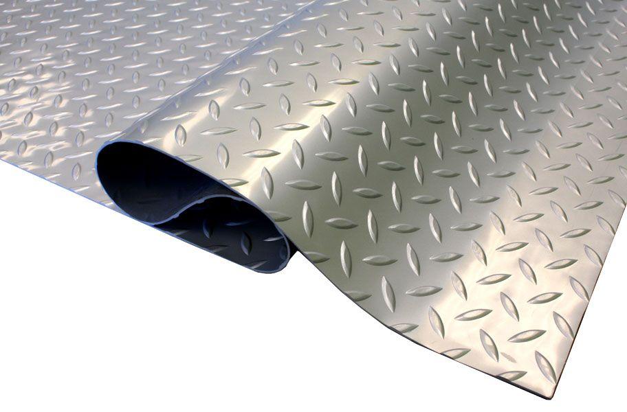 Diamond Nitro Rolls Vinyl Garage Flooring Garage Floor Mats Cool Garages