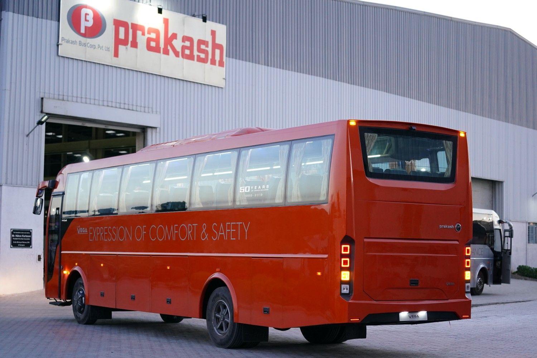 Prakash Vega Rear In 2020 Vega Bus Expressions