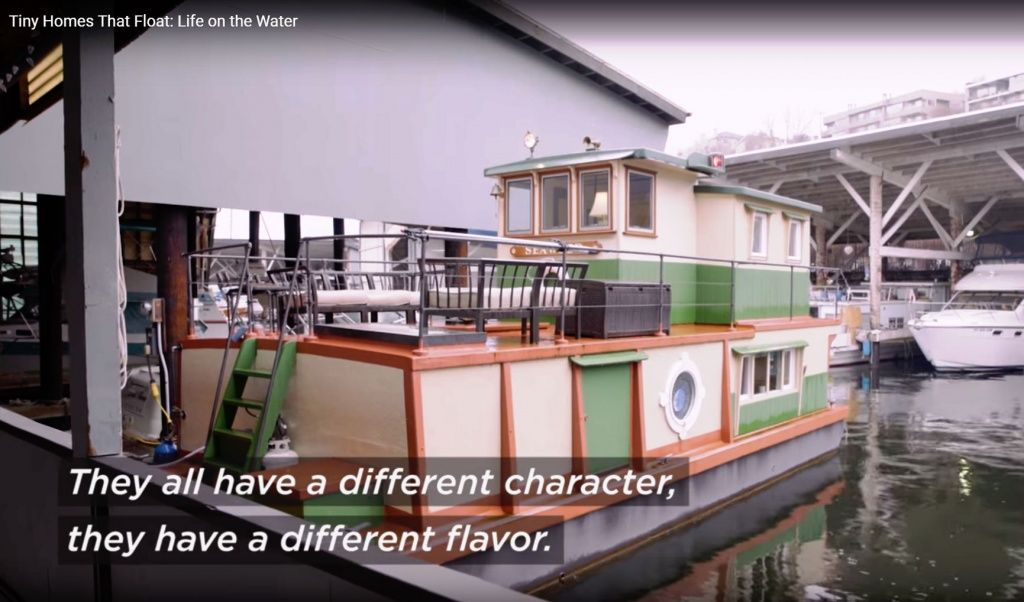 Seattle Houseboats Featured on Zillow Promo Video