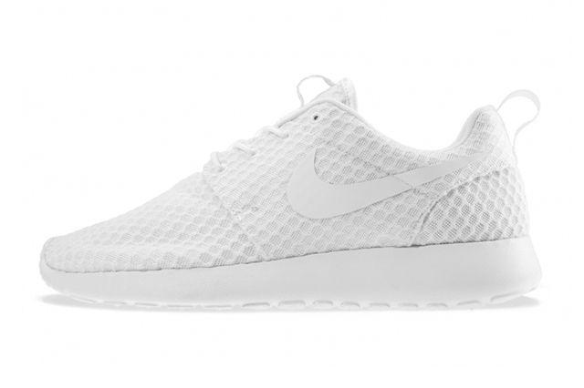 Blanc Uni Nike Free Runs