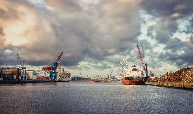 Hafenansichten Hamburg