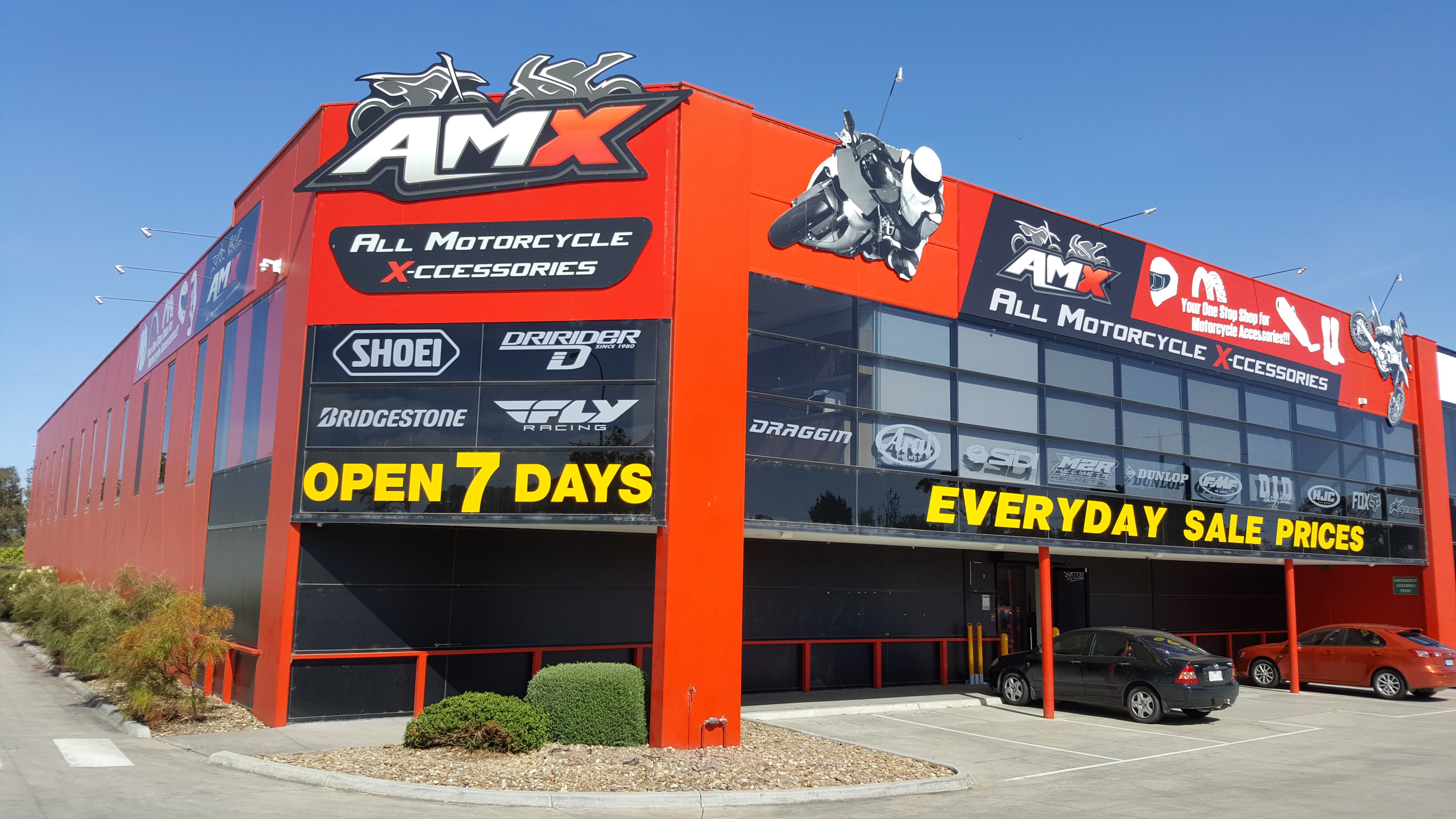 AMX superstore at 550 South Gippsland Hwy, Lynbrook in
