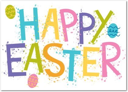 Arty Easter Wishes - Greeting cards from treat.com