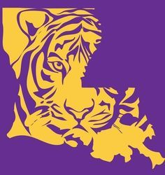 free printable lsu logo clipart free clip art images lsu rh pinterest com lsu football clipart free lsu tiger clipart