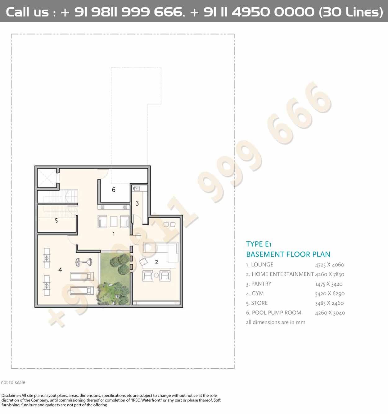 Type E1 Basement Plan Floor Plans House Construction Plan How To Plan
