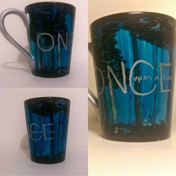 Once upon a time coffee mug by Krafternal on Etsy
