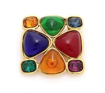 Chanel Vintage Gripox Gold Multicolor Glass Brooch https://t.co/2Jdki0owuO https://t.co/Cqwd48Rwwz