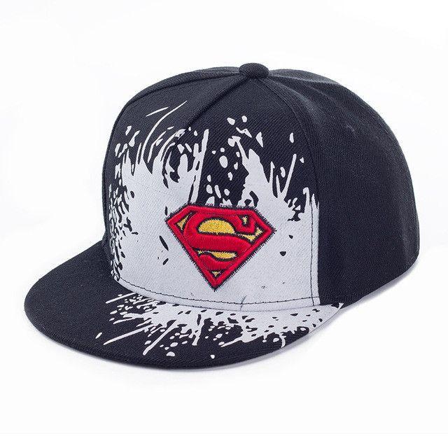 dc9773ef228 2017 New Superman Letter Baseball Cap NY Kid Boys And Girls Bones NY caps  Snapback Hip Hop Fashion Flat Hat Baby snapback Batman