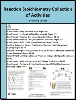 Reaction Stoichiometry Collection Of Activities  Student