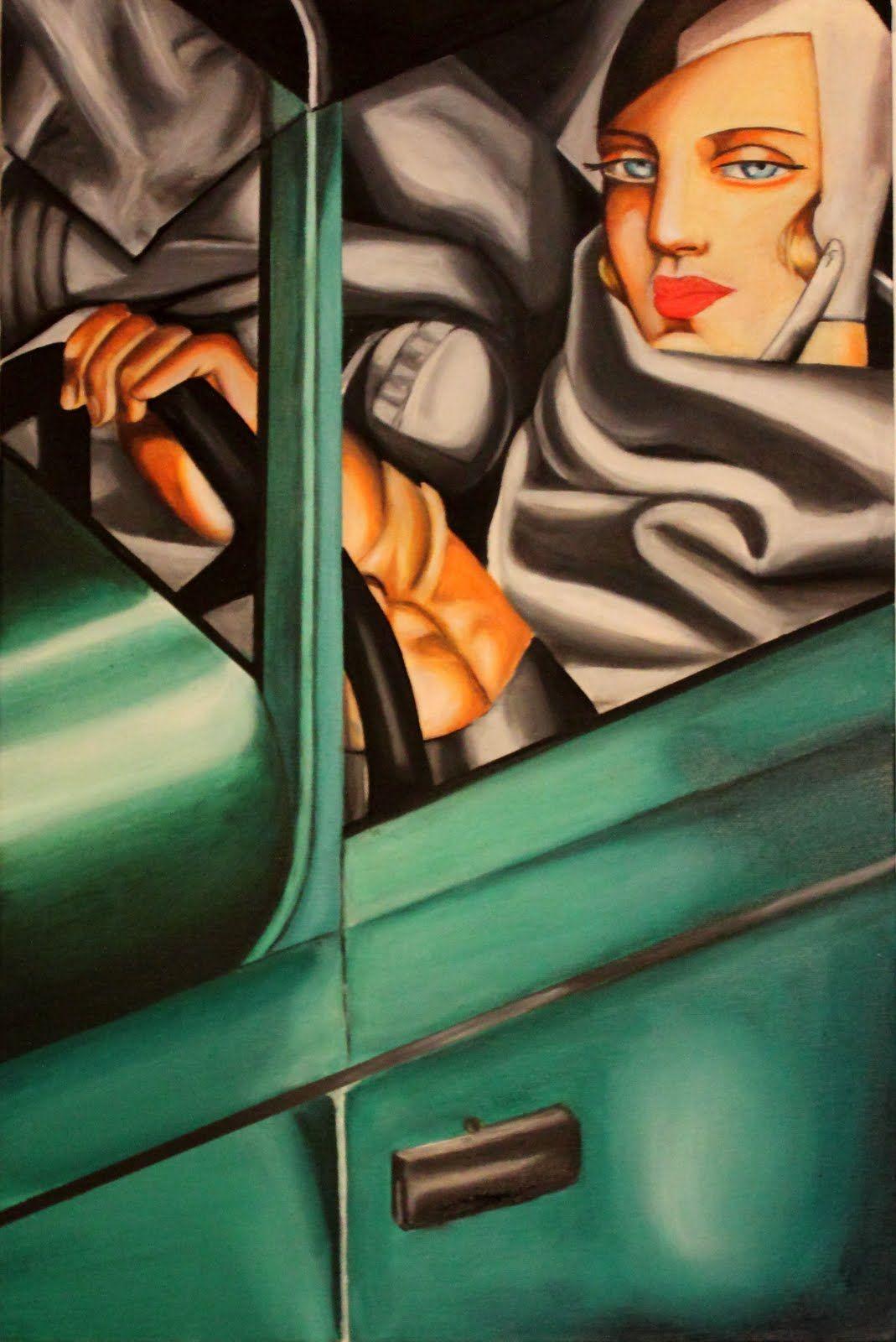 Tamara de Lempicka, 'Autoportrait'
