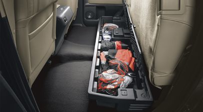 Toyota Tundra Truck Accessories Under Seat Storage