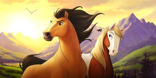 Always My Favorite Childhood Movie 3 Spirit Der Wilde Mustang Pferd Zeichnung Ausmalen