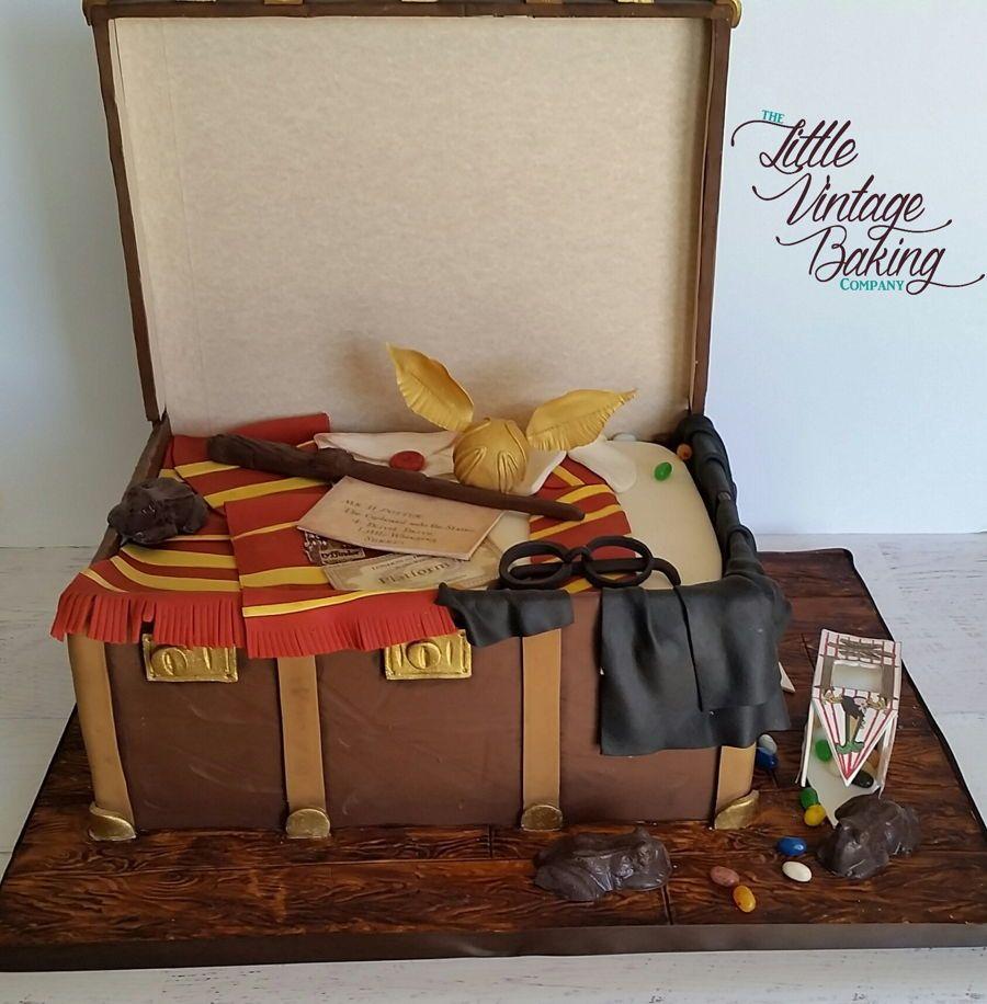 Harry Potter Inspired Trunk Cake On Cake Central