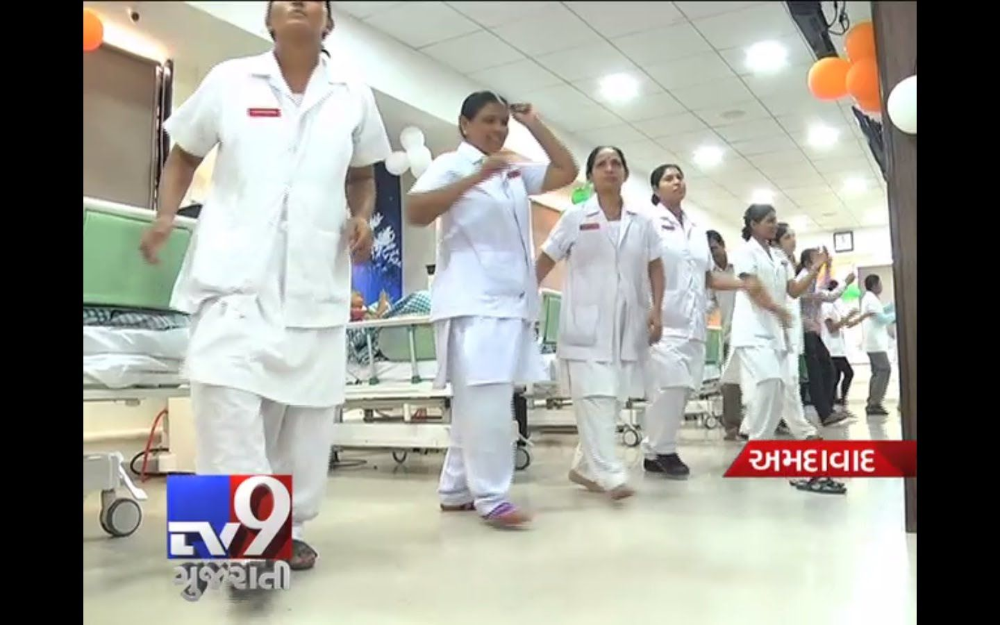 Ahmedabad : After a video surfaced showing medical staff of