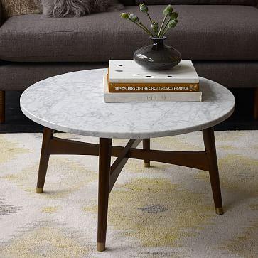 Reeve Mid Century Coffee Table Marble Mid Century Coffee Table