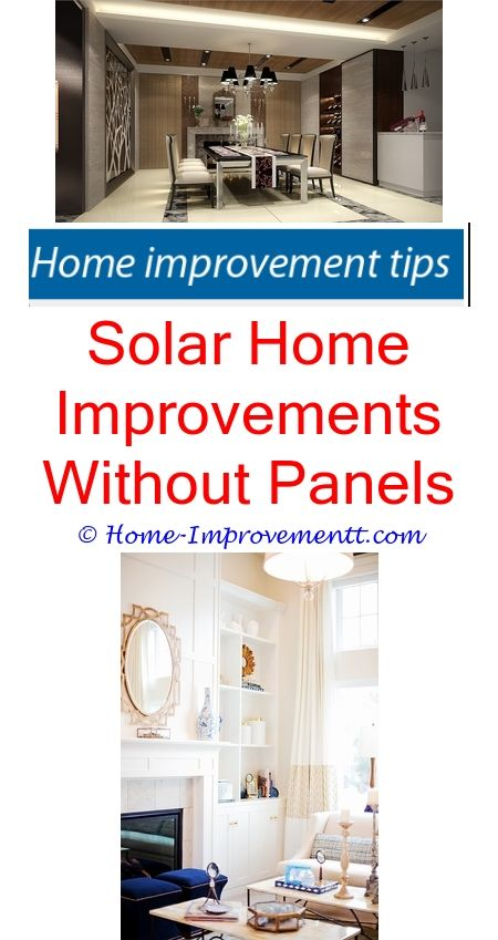 Solar Home Improvements Without Panels- Home Improvement Tips #34365 ...