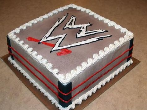 Birthday Cake (107) - WWE Wrestling, The Undertaker | by Scrumptious Cakes  by