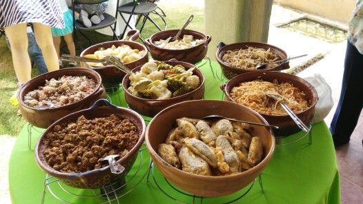 Bufete de comida mexicana