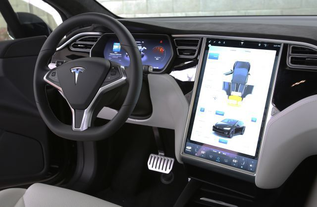 2018 Tesla Model X interior | Concept Cars Group Pins ...