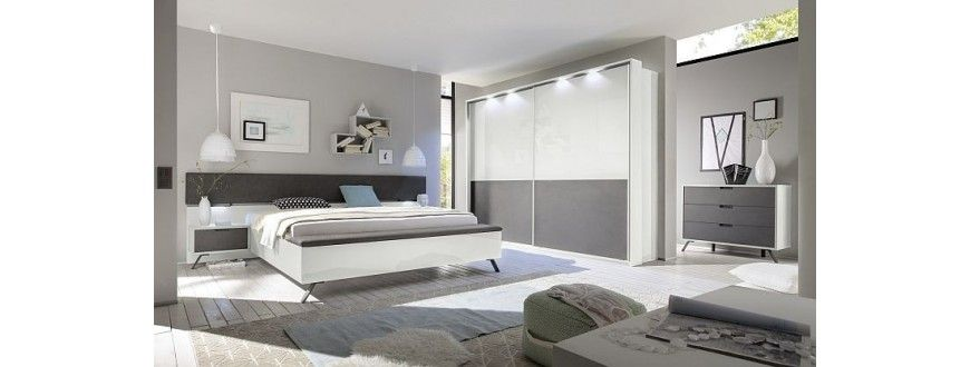 White gloss bedroom set modern bedroom furniture: high gloss ...