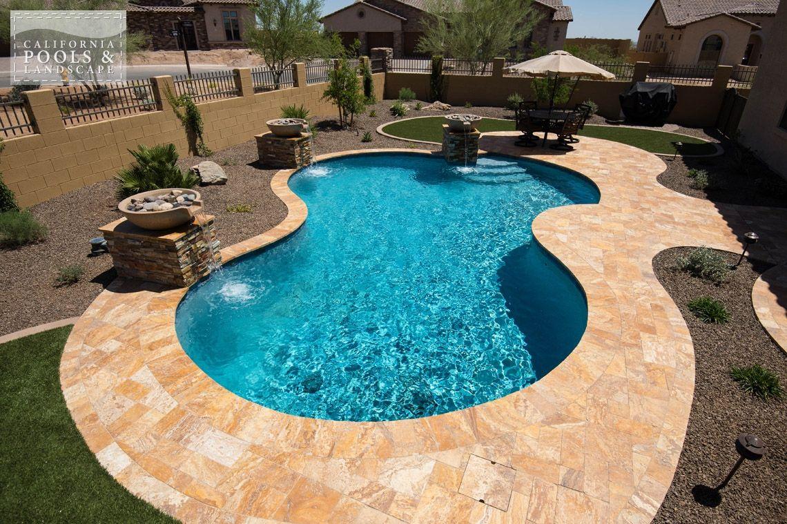 Vintage outdoor pool az swimming pool builders outdoor - Swimming pool builders california ...