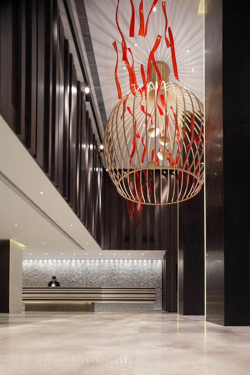 Marco Polo Gateway Hotel Hotel Interior Design Hotel Interiors Lobby Design