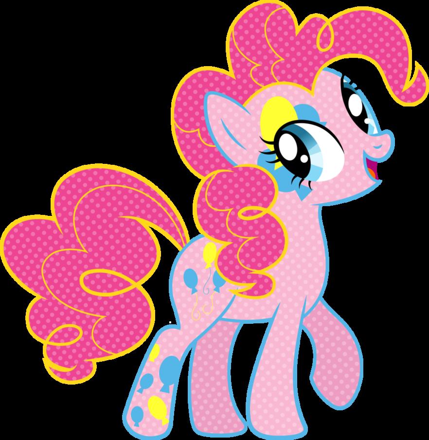 Cutie Mark Magic Pinkie Pie Vector By Icantunloveyou Deviantart Com On Deviantart My Little Pony Characters My Little Pony Pictures My Little Pony Friendship