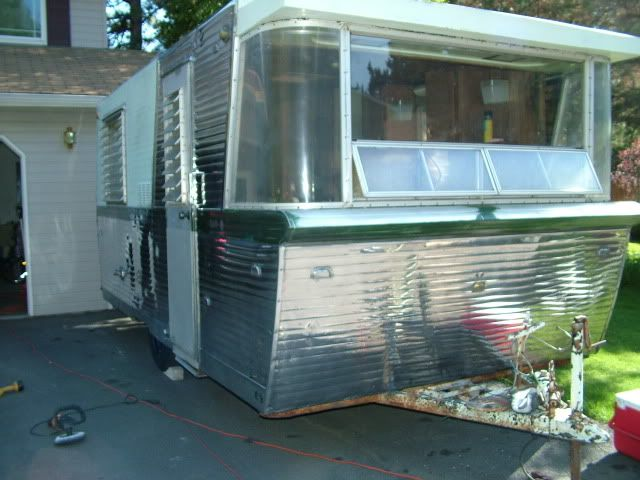 Holiday House Anyone Airstream Forums Holiday Home Vintage Trailers Restoration Vintage Travel Trailers