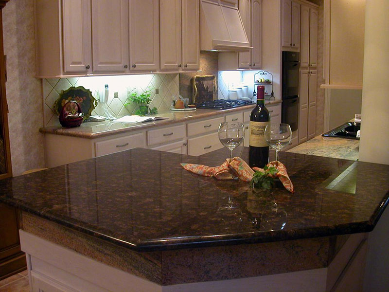Tan Brown Granite Countertops (Pictures, Cost, Pros and ...