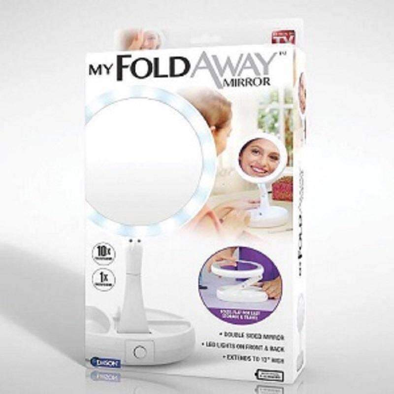 My Foldaway Mirror Double Sided Mirror Simple Storage Bright