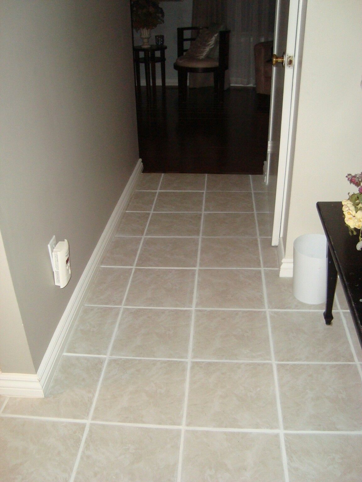 Change colour of grout with polyblend from home depot