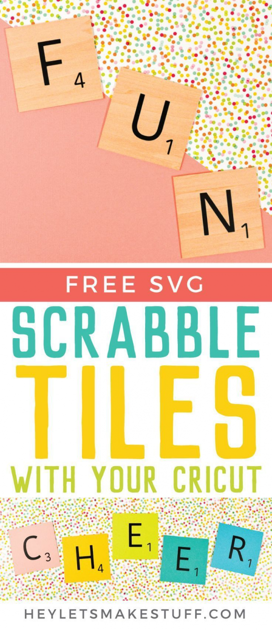 Scrabble Words with Your Cricut Includes Free SVG! in