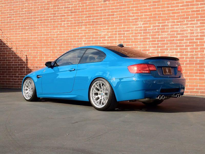 2012 Bmw Laguna Seca Blue E92 M3 Bmw