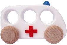 wood toys, Ambulance