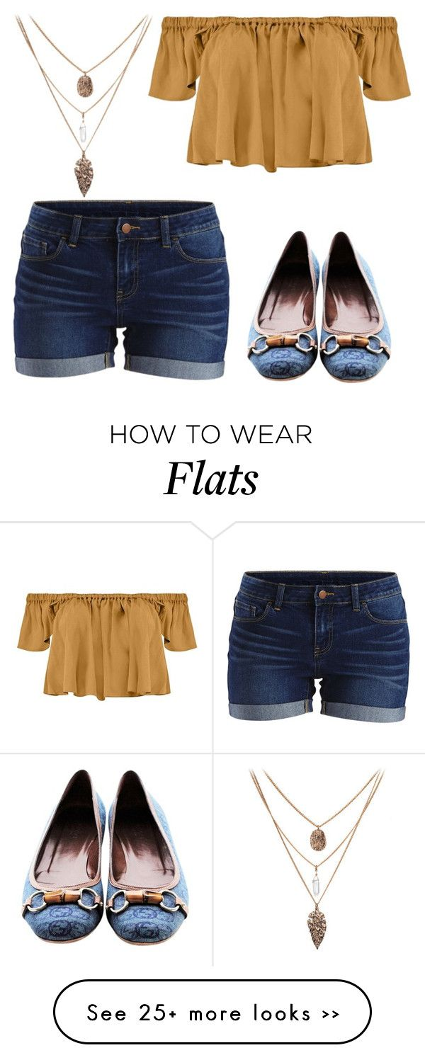 """School outfit"" by short-n-complex on Polyvore featuring Gucci, VILA and Tejido"