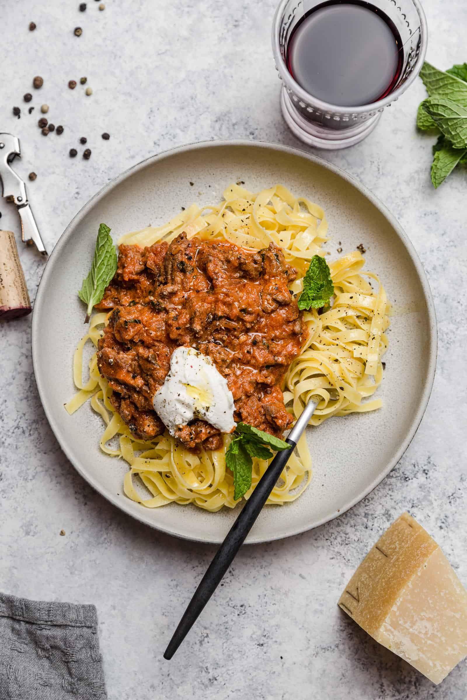 Lamb and Mint Ragu | Recipe | Lamb dinner, Lamb sauce ...