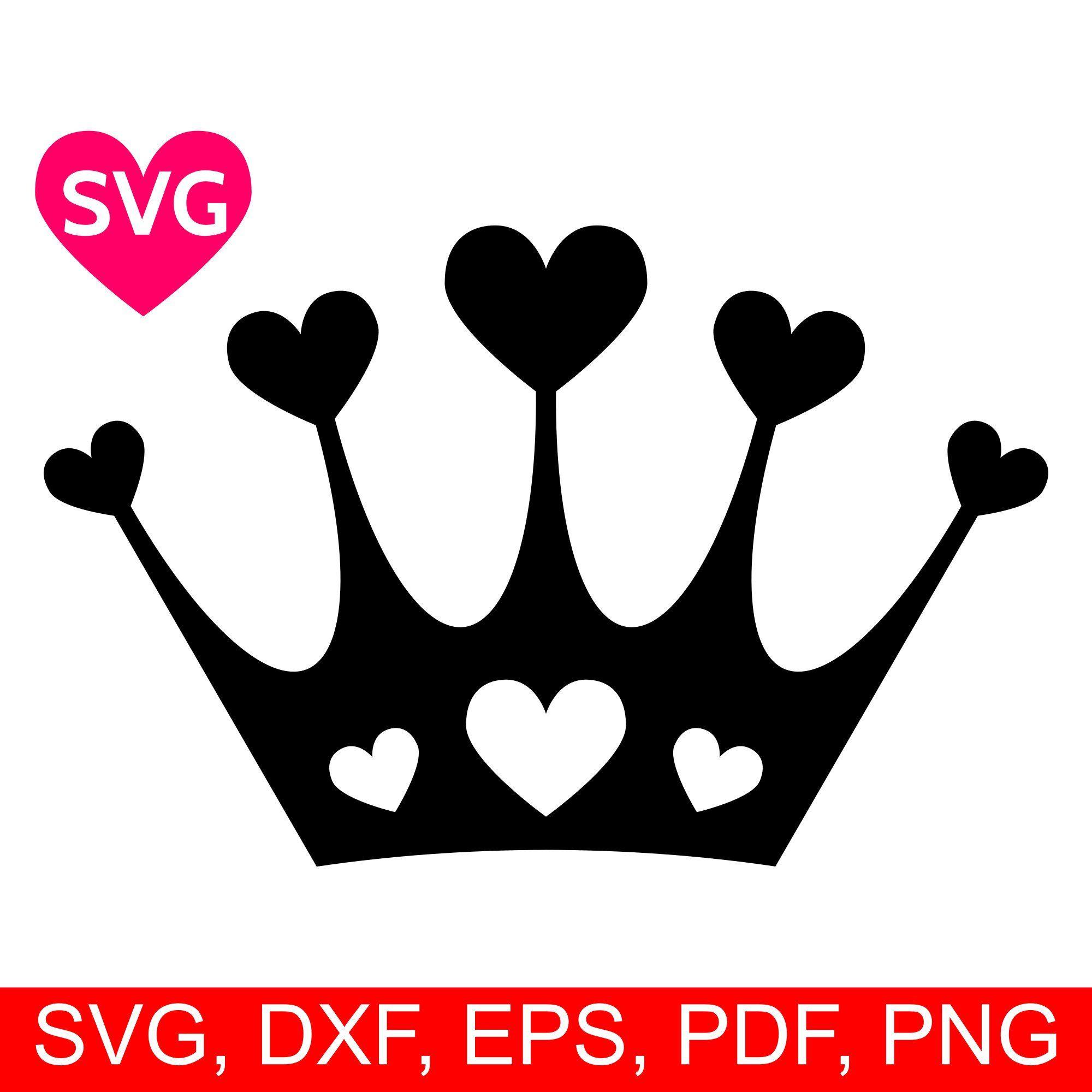 Crown SVG file Crown template, Crown printable, Svg