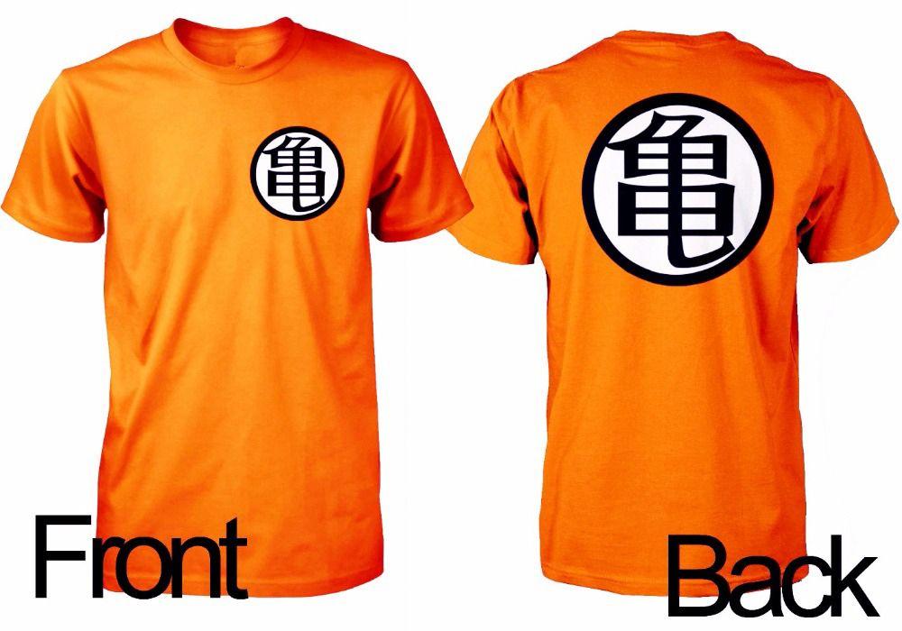 Dragon Ball Z Kame Symbol T Shirt Dragon Ball Z Dragon Ball Goku T Shirt