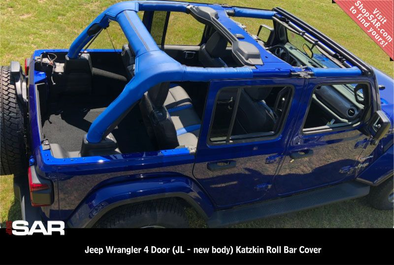 2018 Jeep Wrangler 4 Door Jl New Body Katzkin Roll Bar Cover Jeep Wrangler Jeep Wrangler Interior Jeep Wrangler Doors
