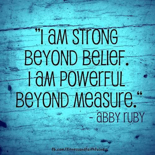 i am powerful beyond measure wall decal - Google Search