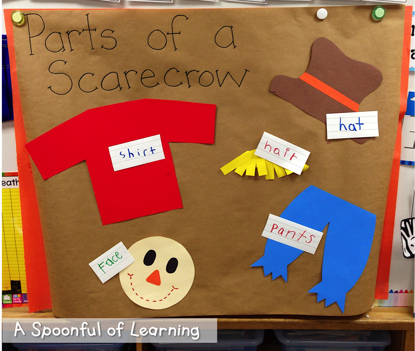 A Spoonful Of Learning Scarecrows Part One