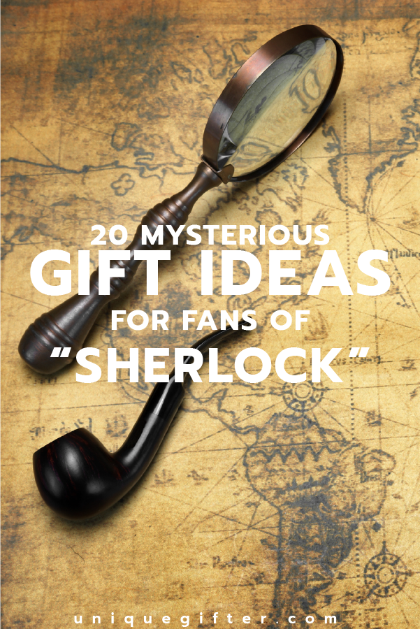 20 Gift Ideas for Fans of Sherlock | Gifts For Everyone on Your List ...