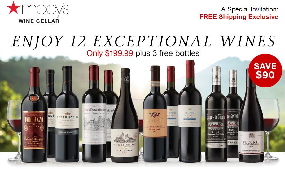 Macy S Wine Cellars Wine Clubs Wine Wine Clubs Wine Delivery