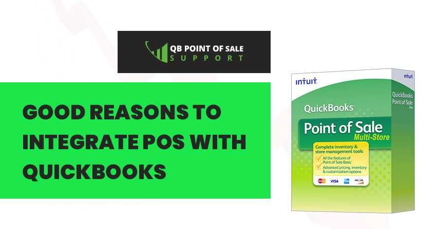 Looking for the good reasons to Integrate POS with QuickBooks? Relax