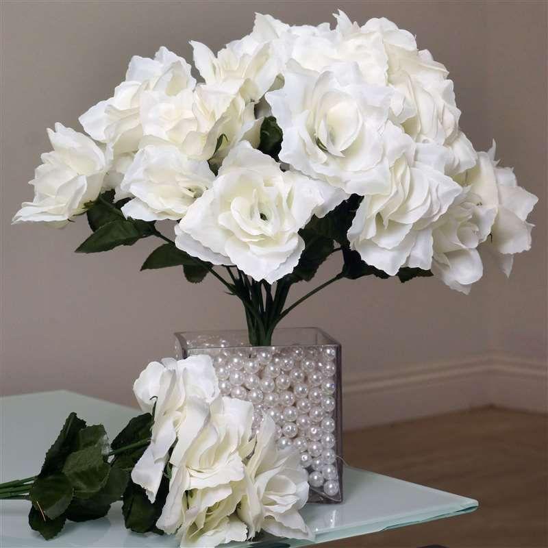 84 silk open rose cream silk flowers factory flowers pinterest 84 silk open rose cream silk flowers factory mightylinksfo